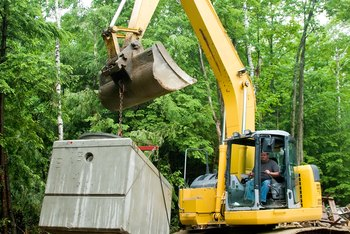 A septic tank is part of your home, but it may not be covered by your homeowners insurance.