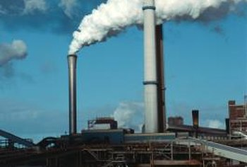 Textile factories produce many types of toxic pollutants.