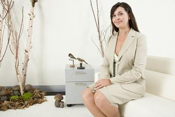 Painting your office using feng shui principles can stimulate employees.