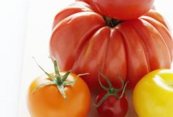 Heirloom tomatoes benefit from the hybrid's disease resistance.