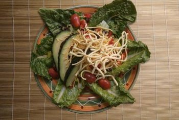 Top your salad with fresh mung bean sprouts.