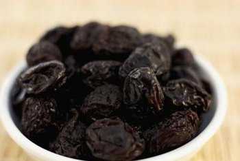 Eating prunes can help relieve irregularity.