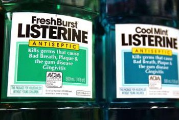 Only original, not flavored, Listerine should be used on orchid problems.