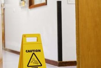 Initial workplace hazards are determined through property and job risk analyses.