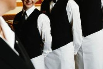Restaurant staff are part of the food industry.