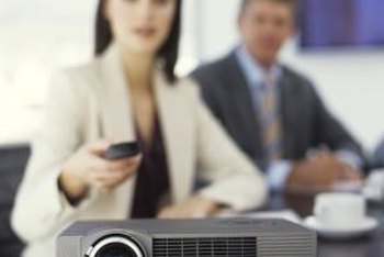Projectors are great for presentations and playing movies.