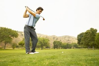 Strong hip rotators can help your golf swing.
