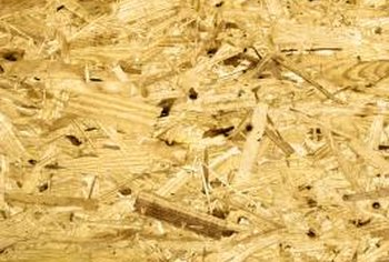 Oriented strand board is the optimum backer for hardboard siding.