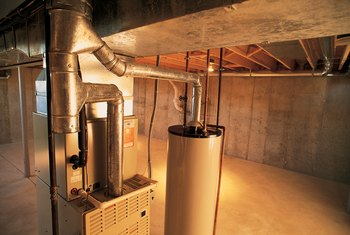 Modern furnaces need less space and fuel than older models.