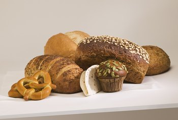 Any type of bread product can be preserved for a decorative display.