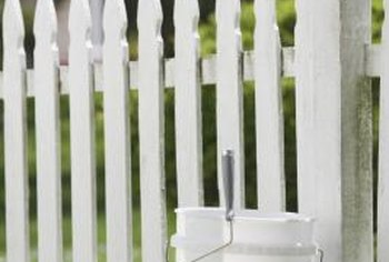The picket fence is a classic yard and garden barrier.