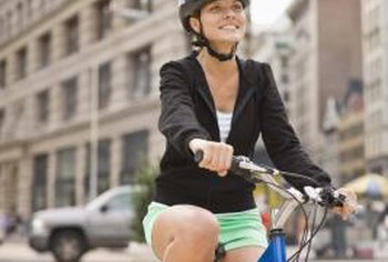 Always wear your helmet when cycling to prevent head injuries.