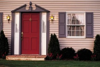 A properly refinished entry is attractive, and adds curb appeal to your home.