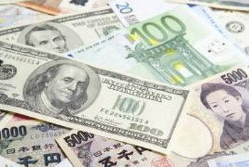 Foreign exchange markets buy and sell currencies from countries around the world.
