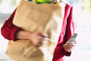 Clients may need help with daily tasks such as grocery shopping.