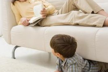 A loose sofa button is one of life's little but nagging annoyances, easily fixed.