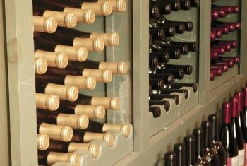 Choosing the wood is a key decision when building a wine cellar.