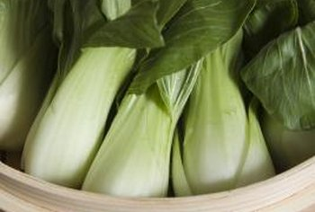 Bok choy stalks are consumed cooked or raw.
