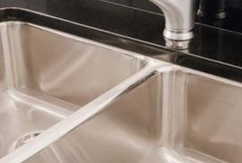 Use a caulk that matches the color of your counter to help it appear less noticeable.