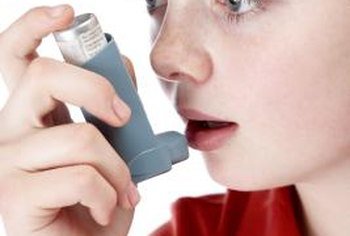 Respiratory therapists teach children to manage asthma.