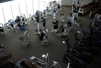 Most gyms offer either an inclined or flat hyperextension bench.