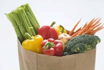 You're encouraged to eat at least 10 servings of fresh produce daily on the Zone Diet.