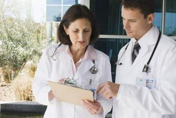Private practice doctors can choose their own staff.
