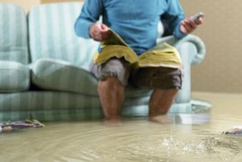 Not all water in your house counts as flood damage.