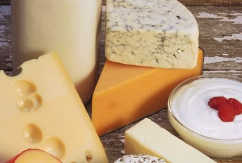 Dairy foods contain lactose.