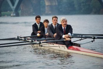 Trust helps everyone to row in the same direction.
