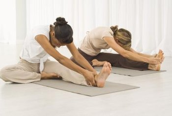Yoga classes before or after work appeal to office workers.