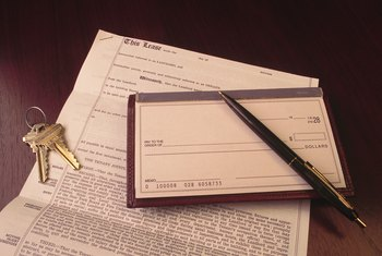 Renting a house often includes paperwork similar to that of renting an apartment.