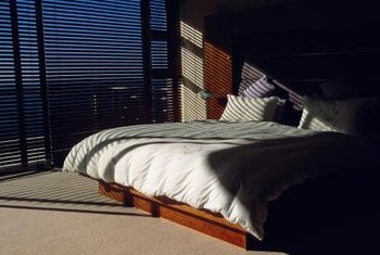 Even the smallest amount of light entering a bedroom can disturb sleep.