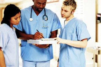 Nurses have a wide range of clinical and non-clinical duties.