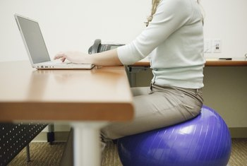 If you are sitting at a desk for long periods of time, take short exercise breaks every hour.