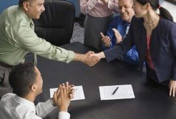 Negotiating contracts is a core responsibility of purchasing management.