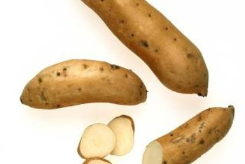 Grow white sweet potatoes if you prefer them less sweet.