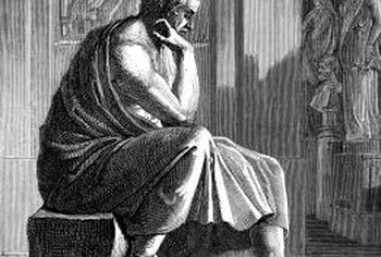"The Greek philosopher Aristotle promoted the concept of ""virtue ethics."""