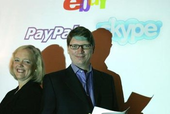 PayPal is owned by eBay.