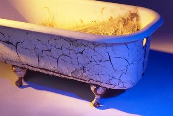 Repair your cracked iron tub to give it new life.