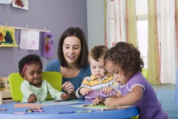 Preschool site supervisors must maintain relationships with teachers and students.