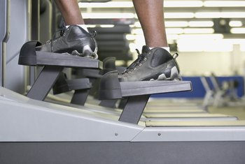 Shoes with adequate -- not extra -- cushioning are useful on the elliptical.