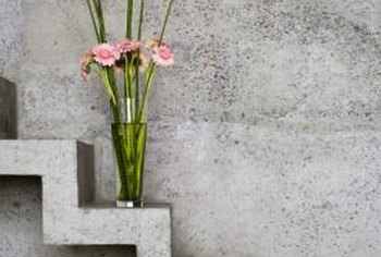 Concrete stains color concrete differently than dyes, so they produces different results.