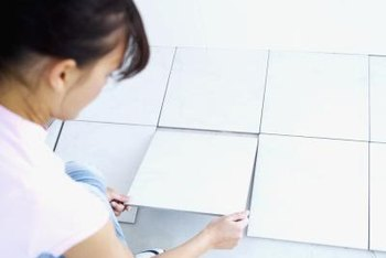 Seal your grouted tiles to prevent against stains and leaks.