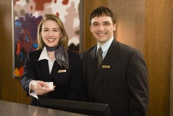 A resume in hotel and restaurant management includes communication skills.