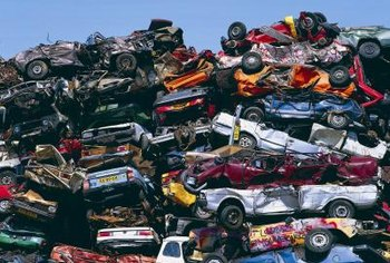 You can devise various strategies to turn this vehicle scrapyard into money.