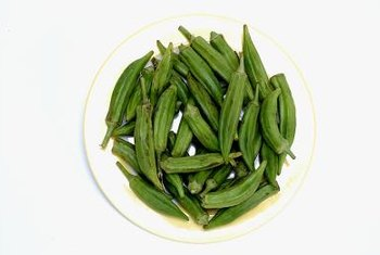 Okra pods are a main ingredient in gumbo, a traditional Southern dish.