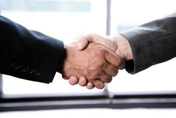 Use a strong handshake to make a positive first impression.