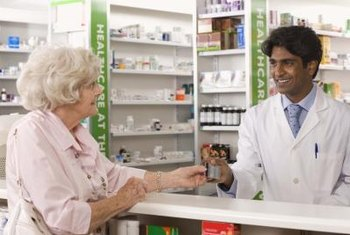 Drug store pharmacies offer convenient access to medications.