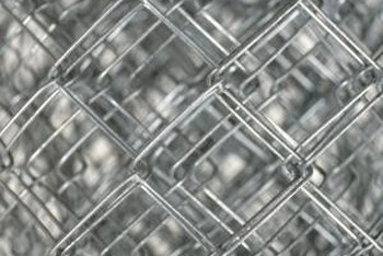 Fencing is available in various materials and patterns.